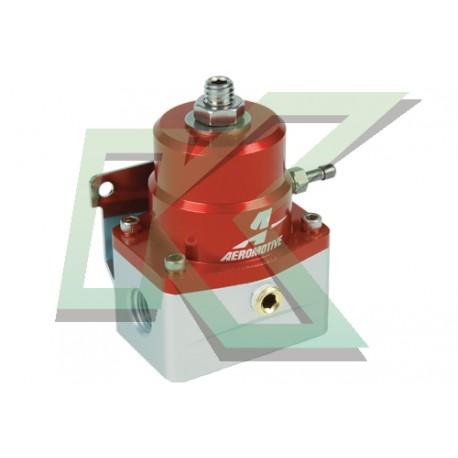 Regulador de presión de bencina 6an Aeromotive / A1000-6 Rojo