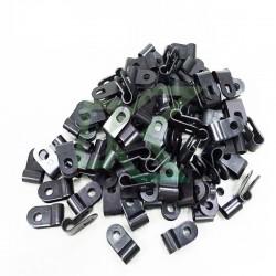 Set de abrazaderas para montaje de cable de 1/4 - 200 uni