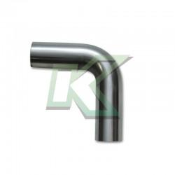 Codo de acero inoxidable 3.5 en 90° / VIBRANT