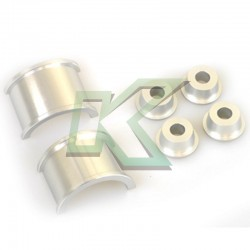 Buje de aluminio HONED / Para cremallera de direccion EG