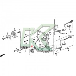 Reten bomba de aceite original honda (43X58X8) / S2000 - F20C