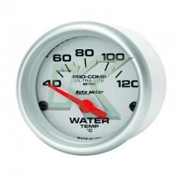 Medidor de temp agua / ultra-elite /AUTOMETER 2-1/16 (52.4mm) gris
