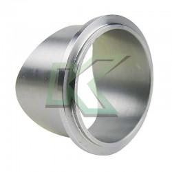 "Flange aluminio para blow off TIAL 50mm / tubo 2.5"""