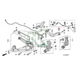 Sensor Abs Trasero - Derecho Original Honda / Civic 06-11