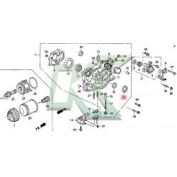 Reten bomba de aceite original HONDA (40x52x7) / Serie H