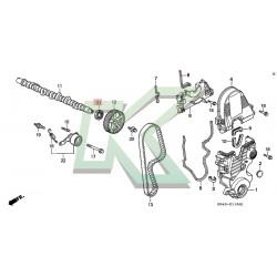 Reten De Eje De Leva Original Honda (29x45x8) / Serie D Sohc