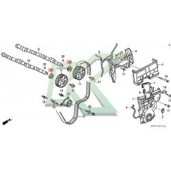 Reten De Eje De Leva Original Honda (29x43x8) / Serie B - H