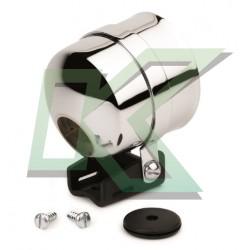 """Soporte De Pedestal Cromado Autometer / 2-5/8"""" (66.7mm)"""