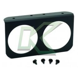 """Soporte De Panel Doble Autometer / 2-5/8"""" (66.7mm)"""
