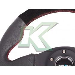 Volante deportivo de cuero - Gamuza negro / Nr-G 320mm